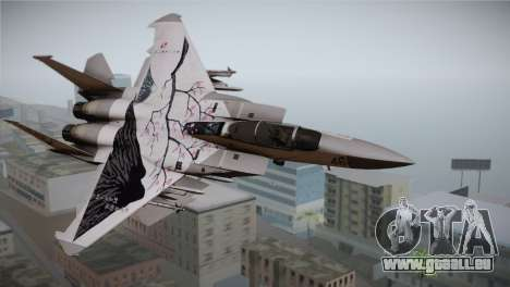 F-22 Raptor Colorful Floral pour GTA San Andreas
