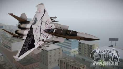 F-22 Raptor Colorful Floral für GTA San Andreas