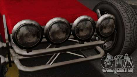 GTA 5 Dune Buggy SA Mobile für GTA San Andreas Rückansicht
