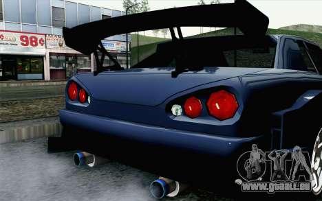 Elegy GP Sports G-SONIC EVO Kit pour GTA San Andreas vue arrière