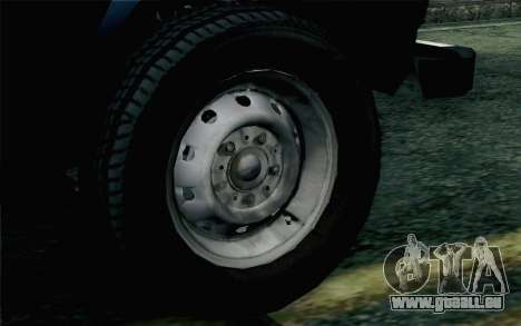 VAZ 2131 Niva 5D pour GTA San Andreas sur la vue arrière gauche