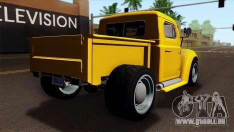 GTA 5 Bravado Rat-Truck pour GTA San Andreas laissé vue