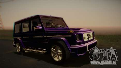 Mercedes-Benz G65 2013 Stock body pour GTA San Andreas