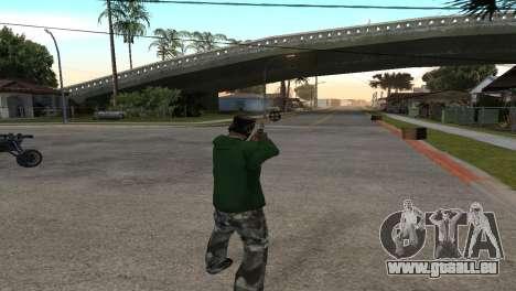 Black Deagle pour GTA San Andreas troisième écran