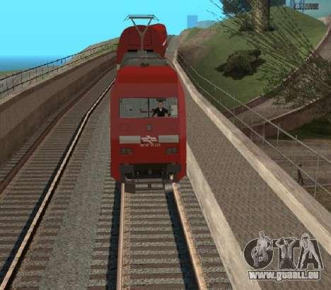 Israeli Train pour GTA San Andreas vue de droite