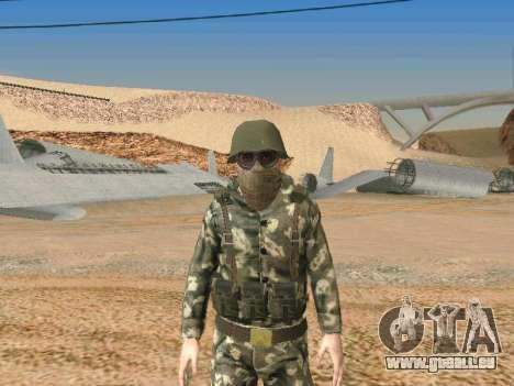 Cine des forces spéciales de l'URSS pour GTA San Andreas cinquième écran