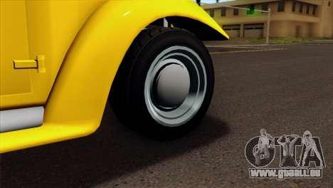 GTA 5 Bravado Rat-Truck pour GTA San Andreas sur la vue arrière gauche