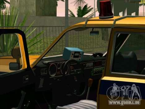 Volga 24-10 GAI pour GTA San Andreas vue arrière