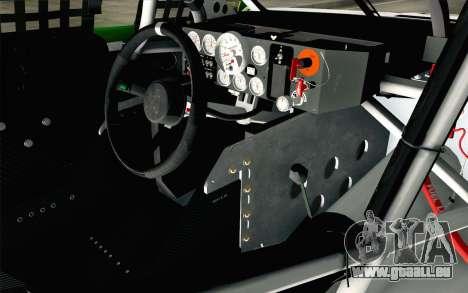 NASCAR Chevrolet SS 2013 v4 für GTA San Andreas rechten Ansicht