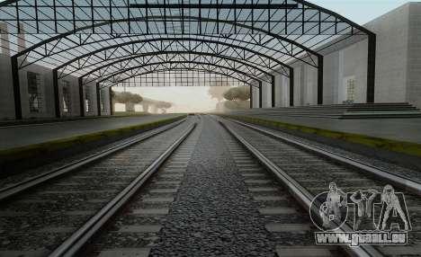 HD Rails de la v3.0 pour GTA San Andreas
