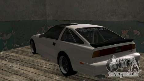 Nissan Fairlady Z 300ZX (Z31) pour GTA San Andreas vue de droite