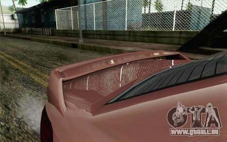 GTA 5 Benefactor Schafter SA Mobile pour GTA San Andreas vue de droite