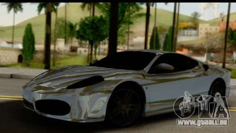 Ferrari F430 Chrome für GTA San Andreas