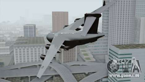C-17A Globemaster III RAF pour GTA San Andreas laissé vue