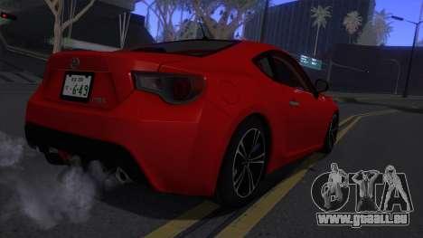 Scion FR-S 2013 Stock v2.0 für GTA San Andreas rechten Ansicht