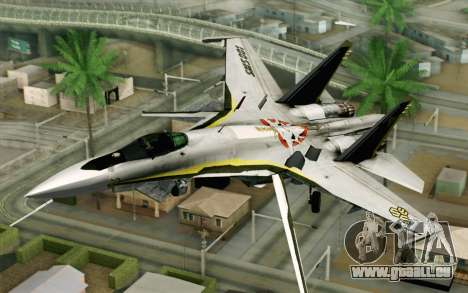 Sukhoi SU-27 Macross Frontier für GTA San Andreas