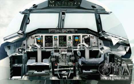Embraer EMB-175 LOT Polish Airlines 600th E-Jet für GTA San Andreas Rückansicht