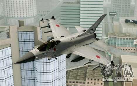 Mitsubishi F-2 Blue JASDF Skin für GTA San Andreas