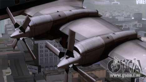 L-188 Electra Eastern Als pour GTA San Andreas vue de droite