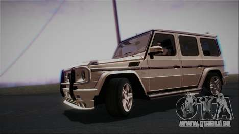 Mercedes-Benz G65 2013 AMG Body für GTA San Andreas linke Ansicht