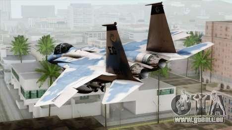 F-15E Artic Blue pour GTA San Andreas laissé vue