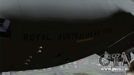 C-17A Globemaster III RAF für GTA San Andreas rechten Ansicht
