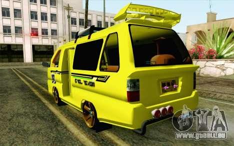 Daihatsu Espass Angkot YRT pour GTA San Andreas laissé vue