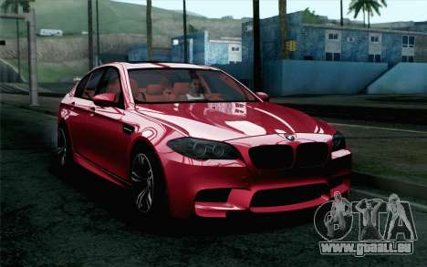 BMW M5 F10 2012 Stock pour GTA San Andreas