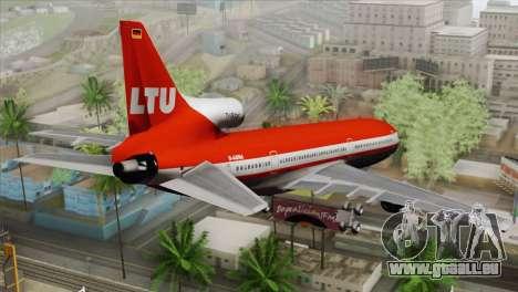 Lookheed L-1011 LTU Intl für GTA San Andreas linke Ansicht