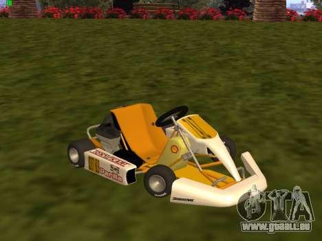 Kart per XiorXorn pour GTA San Andreas laissé vue