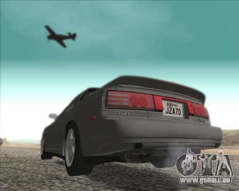 Toyota Supra 2.0GT MK3 pour GTA San Andreas laissé vue
