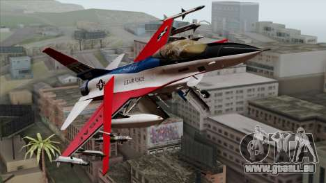 YF-16 Fighting Falcon für GTA San Andreas