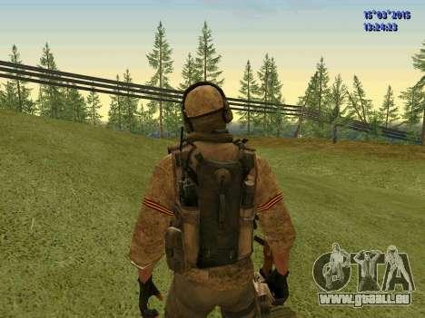 Die Polizisten der Miliz des Donbass für GTA San Andreas her Screenshot