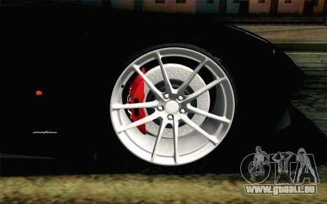 Ferrari F12 Berlinetta pour GTA San Andreas sur la vue arrière gauche