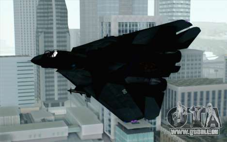 F-14 Raptor Squadron Force für GTA San Andreas linke Ansicht