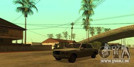 SkyGFX v1.3 pour GTA San Andreas troisième écran