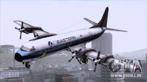L-188 Electra Eastern Als pour GTA San Andreas