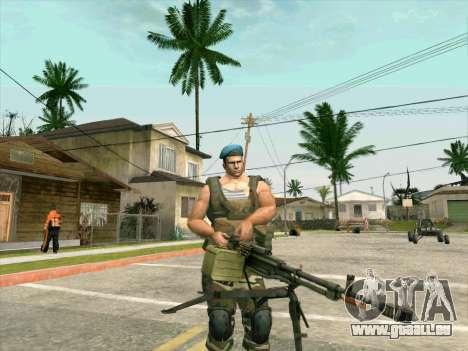 Le canon du char Cordon pour GTA San Andreas