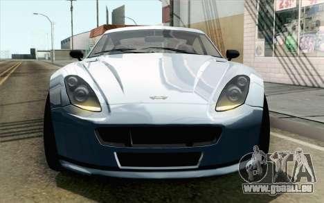 GTA 5 Dewbauchee Exemplar IVF pour GTA San Andreas vue de droite