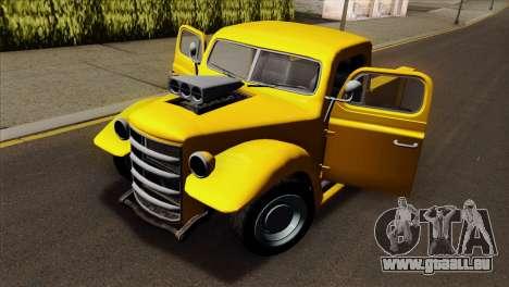 GTA 5 Bravado Rat-Truck pour GTA San Andreas vue arrière