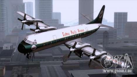 L-188 Electra Cathay P für GTA San Andreas