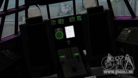 C-130B Indonesian Air Force (TNI AU) pour GTA San Andreas vue arrière