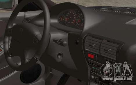 Acura Integra Type R 2001 Stock für GTA San Andreas Rückansicht