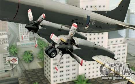 Lockheed P-3 Orion German Navy für GTA San Andreas rechten Ansicht