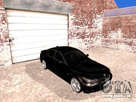 BMW 525i (e60) pour GTA San Andreas