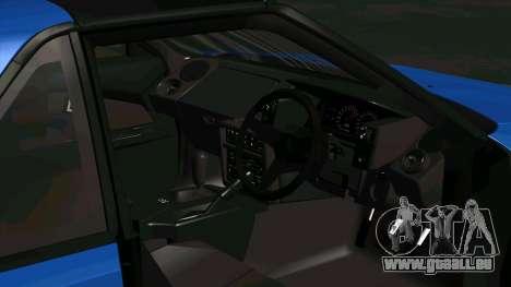 Toyota MR2 1600 G-Limited (AW11) pour GTA San Andreas vue arrière
