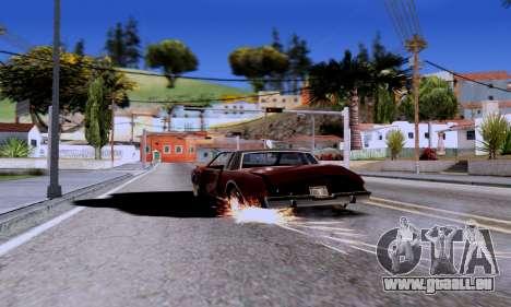 ENB Series EvoGraphics v 1.0 pour GTA San Andreas deuxième écran