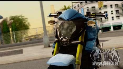 Honda CB1000R v2.0 für GTA San Andreas Rückansicht