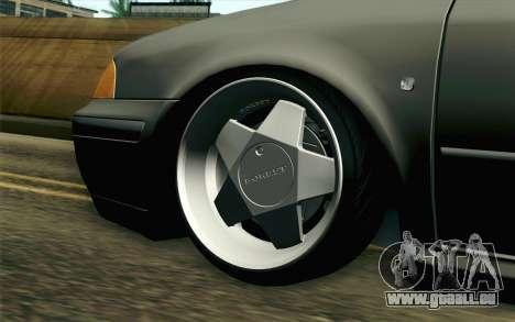 Skoda Octavia pour GTA San Andreas sur la vue arrière gauche