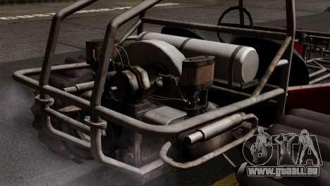 GTA 5 Dune Buggy SA Mobile pour GTA San Andreas sur la vue arrière gauche